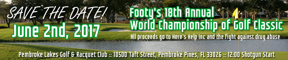 footy's 18th annual world championship of golf classic